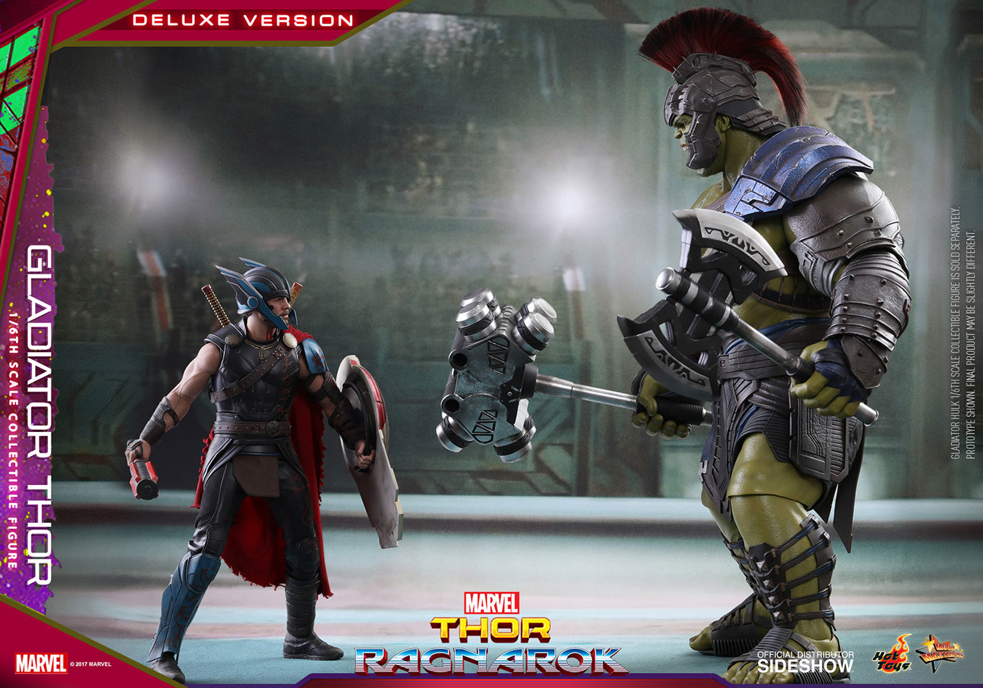Thor Ragnarok Gladiator Thor Deluxe Version Sixth Scale