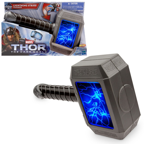 Thor The Dark World Lightning Strike Hammer