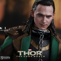 Thor The Dark World Loki Sixth-Scale Figure with Collar
