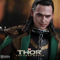 Thor The Dark World Loki Sixth-Scale Figure with Collar