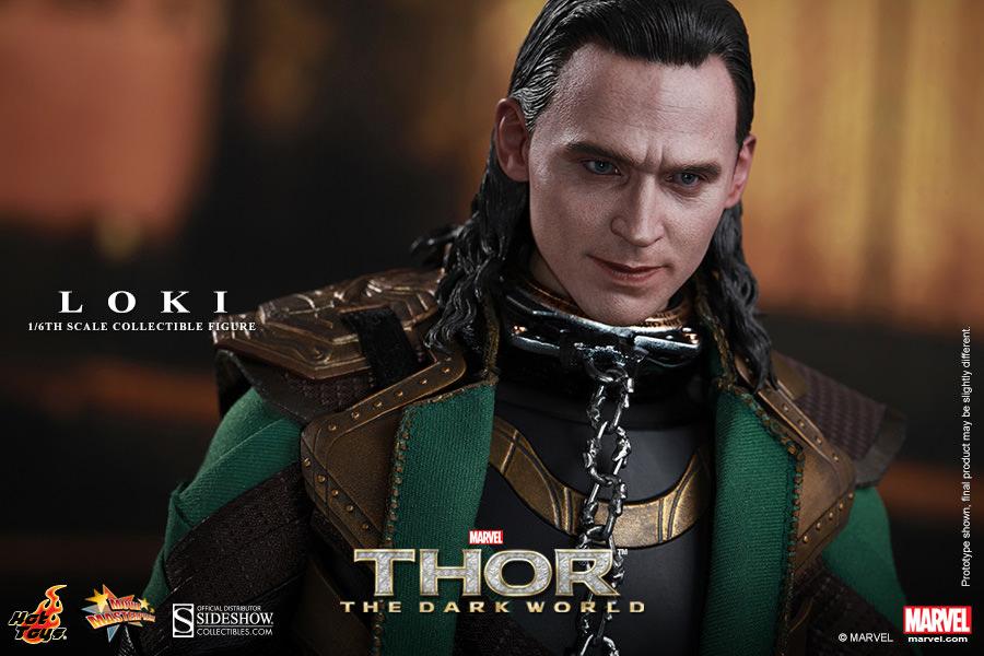 Thor The Dark World Loki Sixth Scale Figure