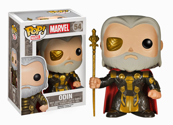Thor The Dark World Movie Odin Pop Vinyl Bobble Head