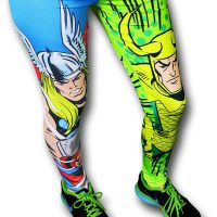 Thor and Loki Cosmic Pop Leggings