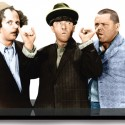 Three Stooges By the Nose Photo Cutout
