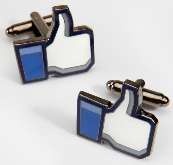 Thumbs Up Likeable Cufflinks