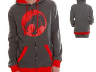 Thundercats Logo Varsity Zip Hoodie