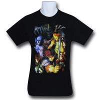 Thundercats Modern Group Black T-Shirt