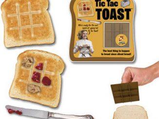 Tic Tac Toe Toast Bread Stamper