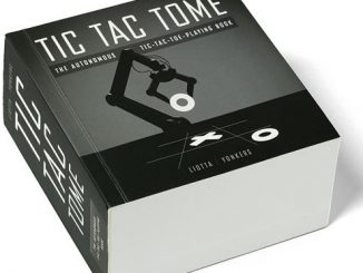 Tic Tac Tome Automatic Tic Tac Toe Playing Book