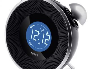 Tick Tock Bluetooth Alarm Clock Stereo