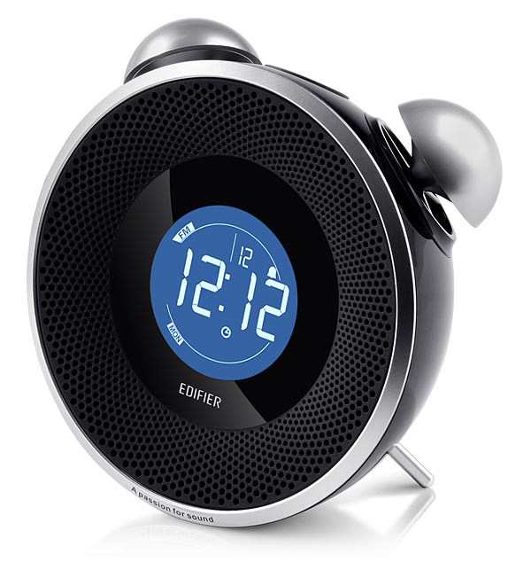 tick tock bluetooth alarm clock stereo. Black Bedroom Furniture Sets. Home Design Ideas