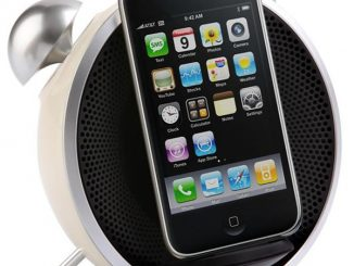 Tick Tock iPhone Alarm Clock