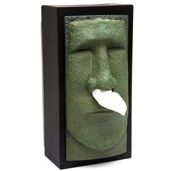 Tiki Tissue Box