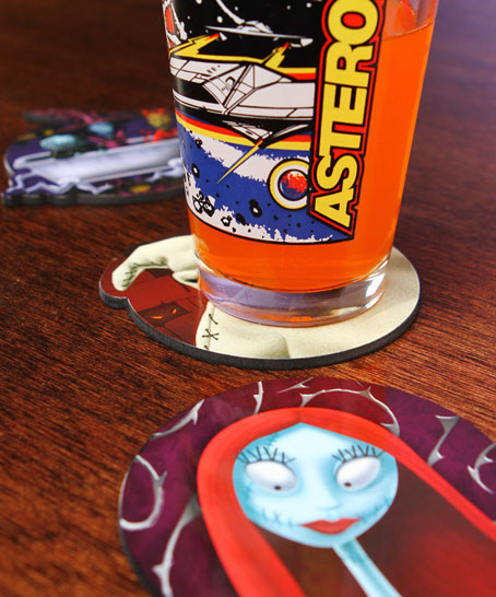 Tim Burton's Nightmare Before Christmas Movie Coasters