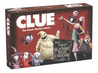 Tim Burton's The Nightmare Before Christmas Clue