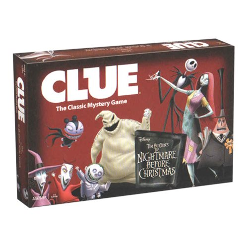 Tim Burton's The Nightmare Before Christmas Clue