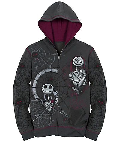 Jack Skellington Fleece Hoodies | NextGadgets.net | Cool Gadgets, New ...