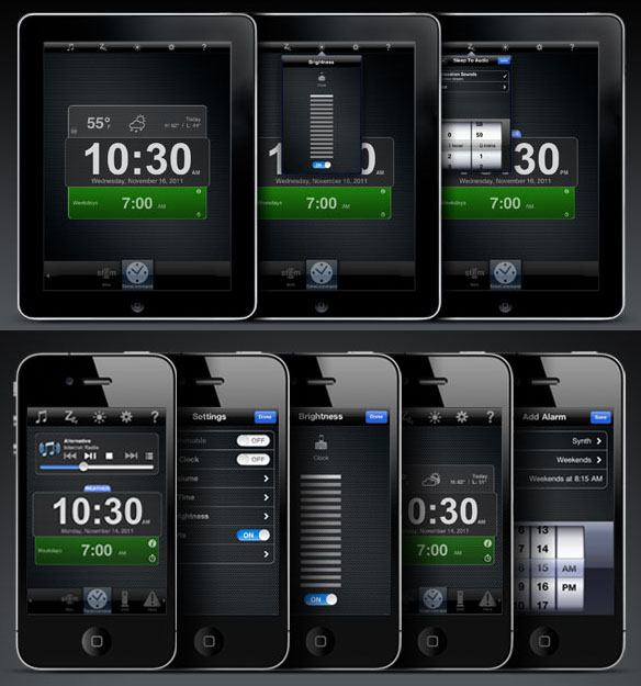 Time Command Mini for iPod, iPhone, and iPad