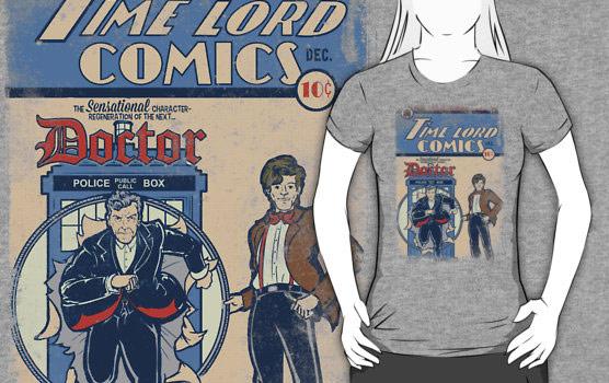 Time Lord Comics Shirt