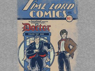 Time Lord Comics T-Shirt