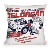 Time-Traveling Delorean Pillow