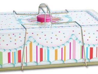 Tin Cupcake and Sheet Cake Carrier