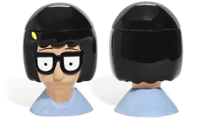 Bob's Burgers Tina Belcher Cookie Jar