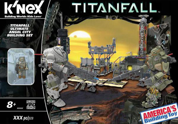 Titanfall KNex Ultimate Angel City Campaign