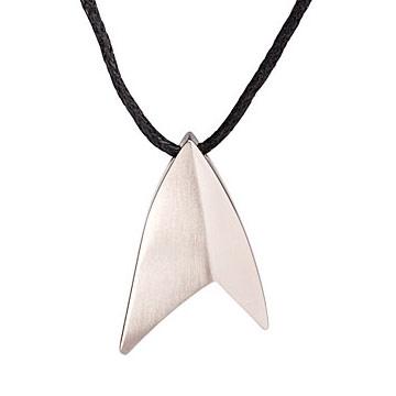 Titanium Starfleet Insignia Pendant