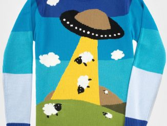 Toddland UFO Sheep Sweater