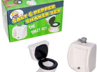 Toilet Bowl Salt & Pepper Shakers