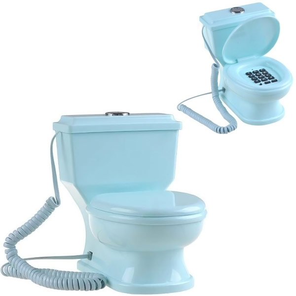 Toilet-Shaped-Home-Telephone