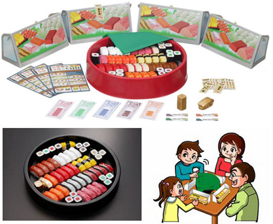 Tokujo Sushi Jan Game