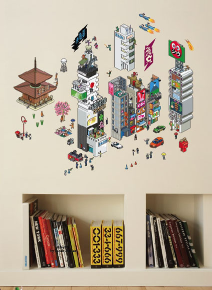 Tokyo eCity Wall Decals