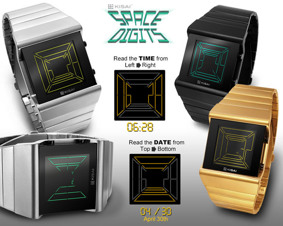 Tokyoflash Kisai Space Digits Watch