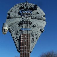 Tom Bingham Star Wars Millennium Falcon Guitar