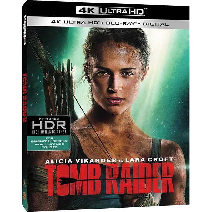 Tomb Raider 2018 4K UltraHD Blu-Ray