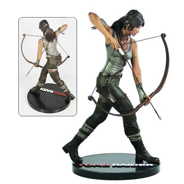 Tomb Raider Lara Croft 9 Statue pouces