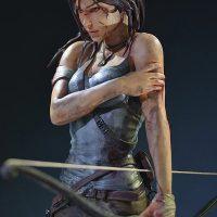 Tomb Raider Lara Croft Survivor Statue