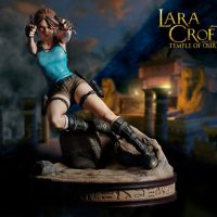 Tomb Raider Lara Croft Temple of Osiris Statue