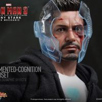Tony Stark The Mechanic with Headset
