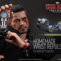 Tony Stark The Mechanic with Homemade Wrist Repulsor