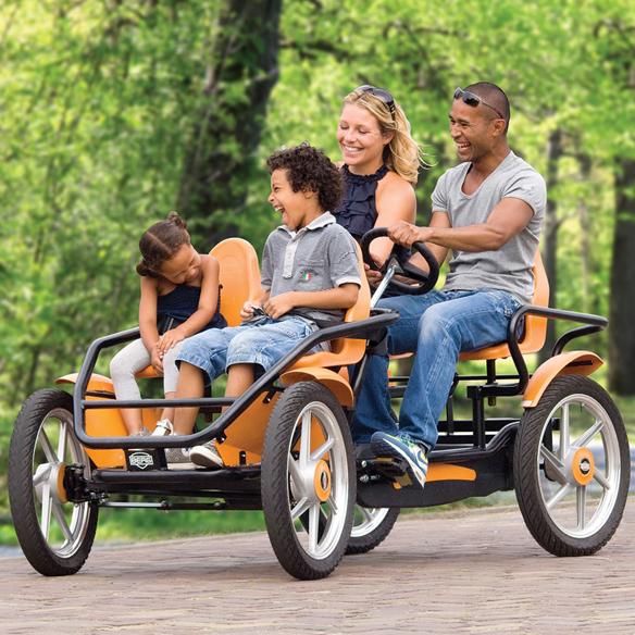 Touring Quadracycle