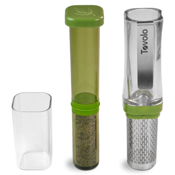 Tovolo TeaGo - The Mobile Tea Press