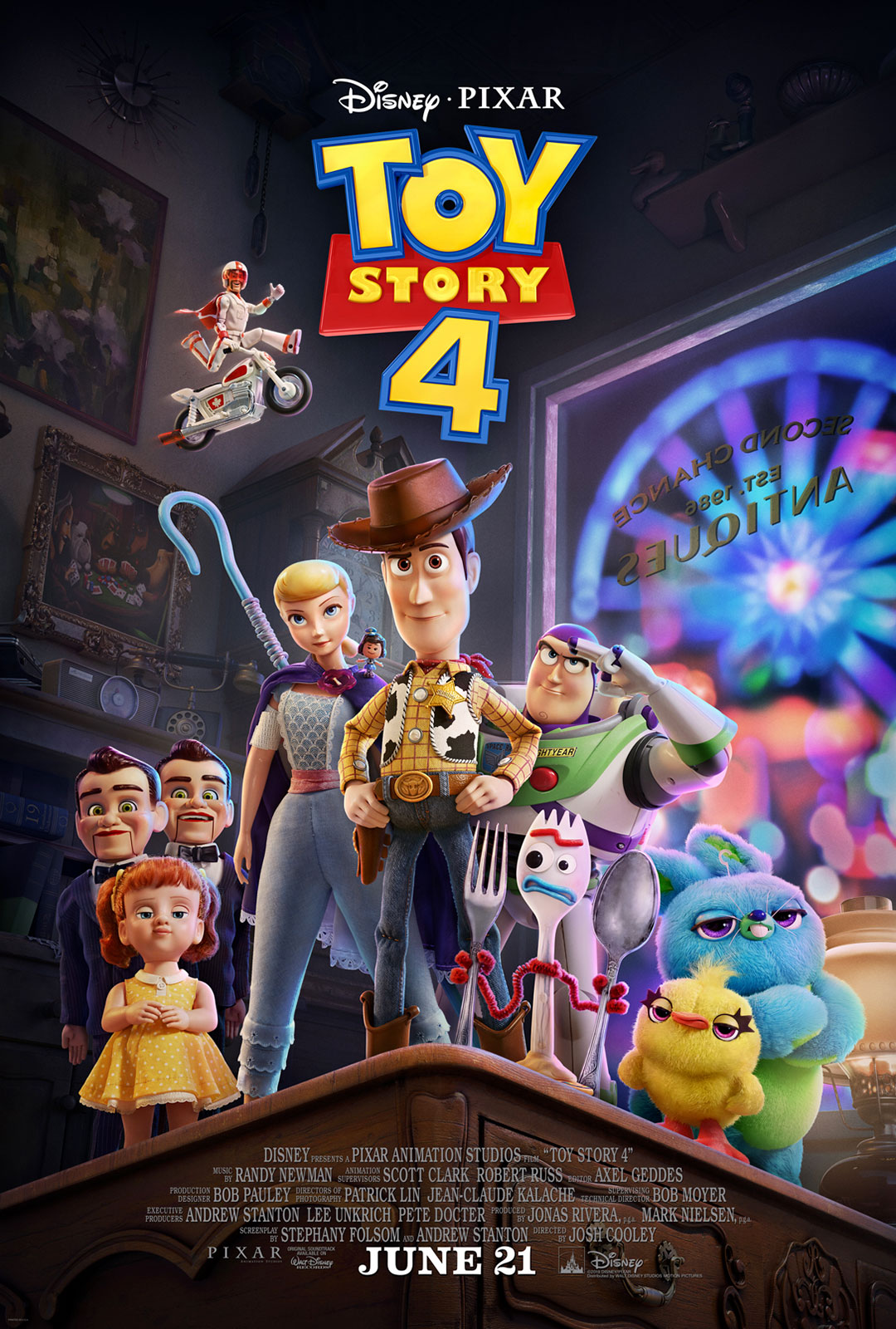 Toy Story 4 – Official Trailer