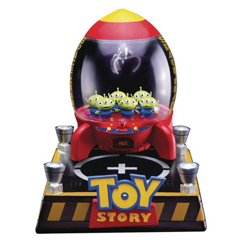 Toy Story Aliens Floating Rocket Egg Attack Statue