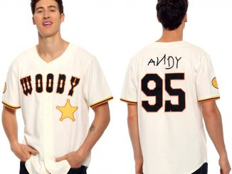Toy Story Woody Baseball Jersey