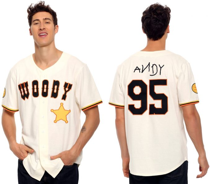 Toy Story Woody Baseball Jersey