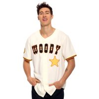 Toy Story Woody Baseball Jersey Front