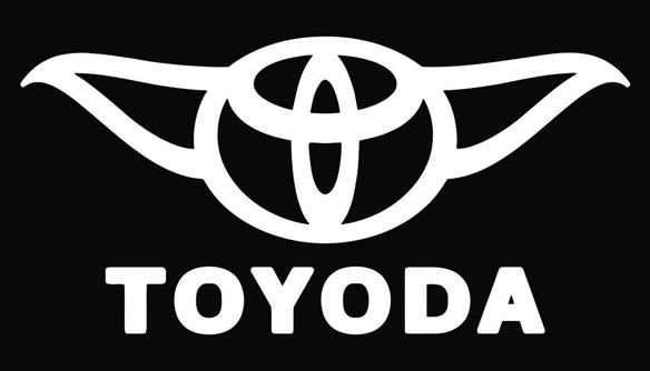 Toyoda Toyota Star Wars Vinyl Decal